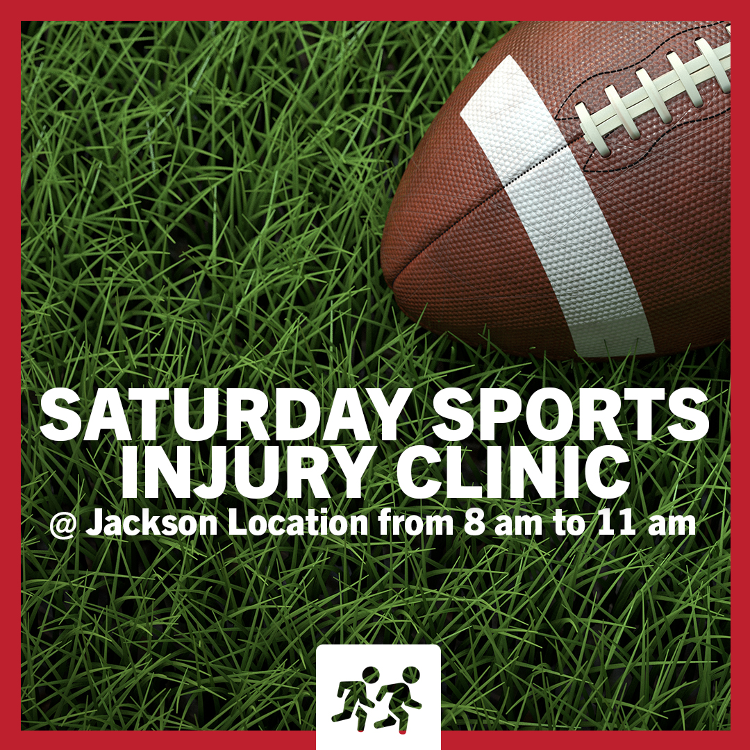Saturday Sports Injury Clinic Jackson