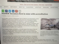The Surgery Center First In State for Blue Distinction