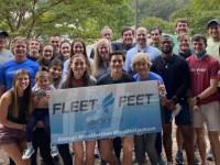 Dr. Lawin & Dr. Burrow Instruct At Fleet Feet