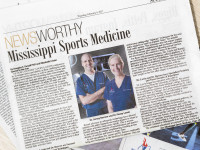 Dr. Penny  Lawin and Dr. Jamey Burrow Featured in Northside Sun